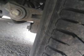 轮胎有严重质量问题,4个轮胎全部开裂。