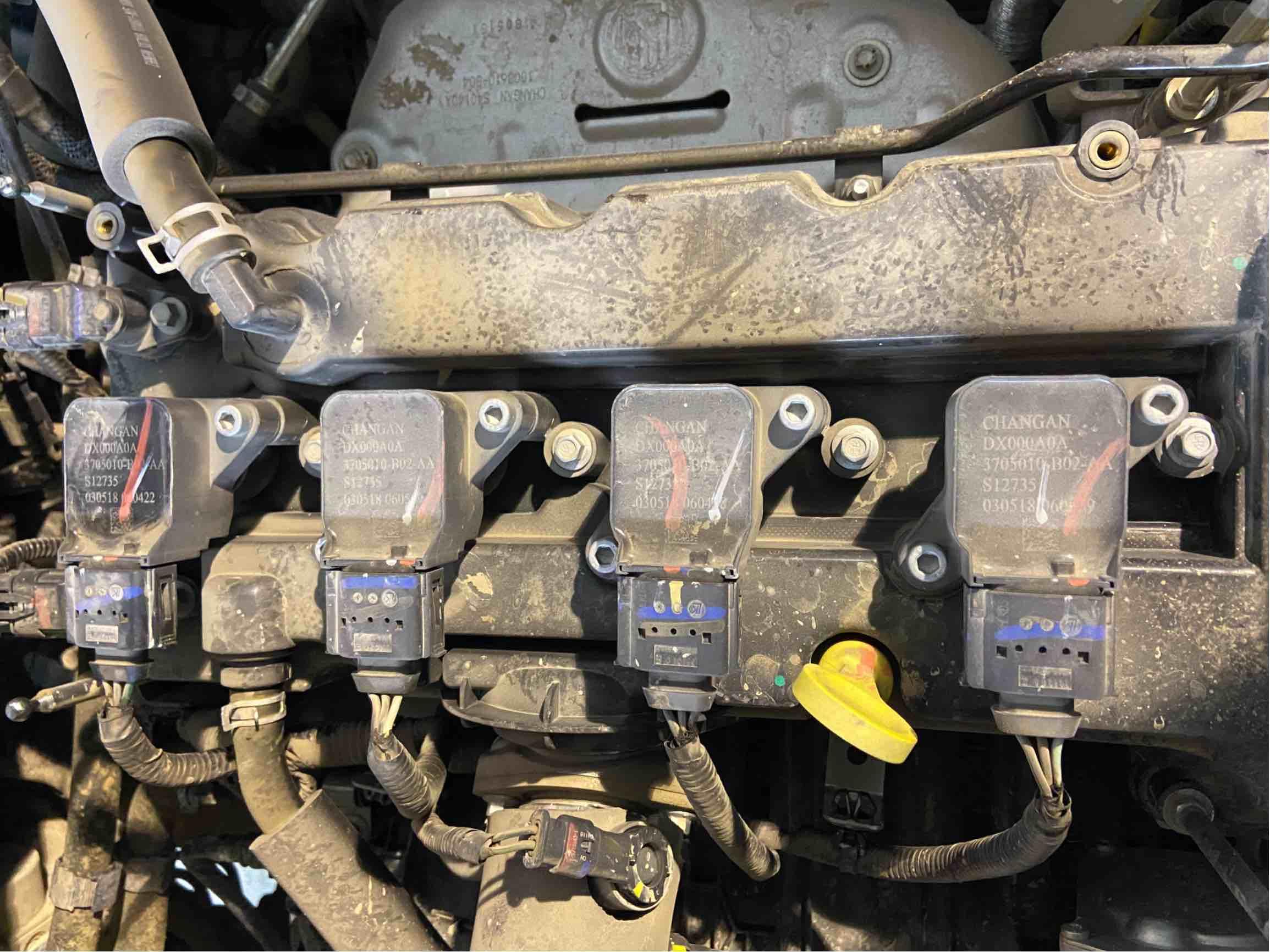 一年的新车发动机就出二次故障