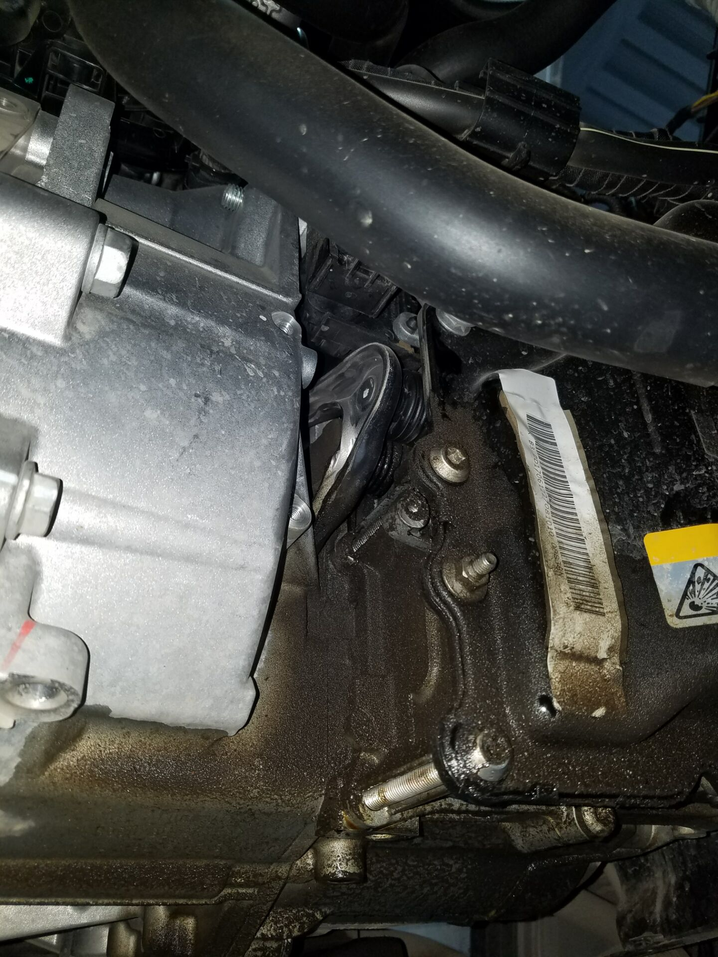 变速箱漏油
