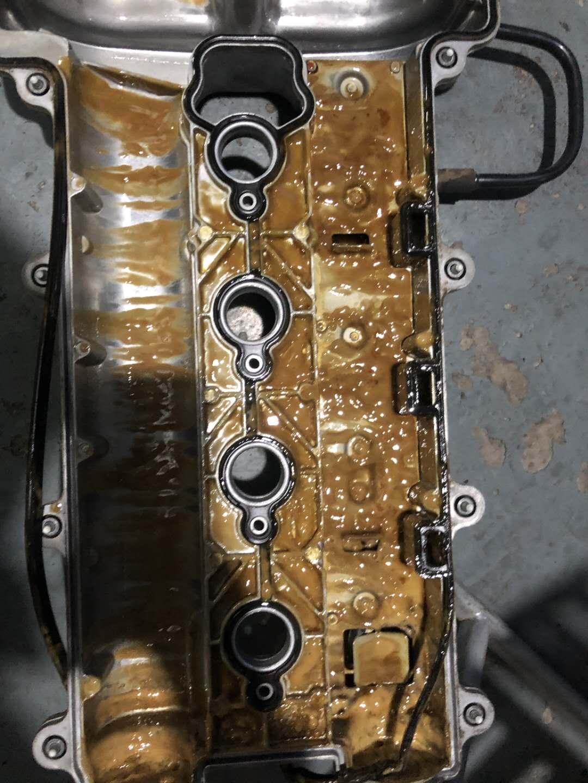 通用雪佛龙科帕奇发动机中缸发现问题