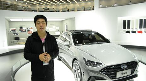 2019上海車展視頻直擊 北京現代