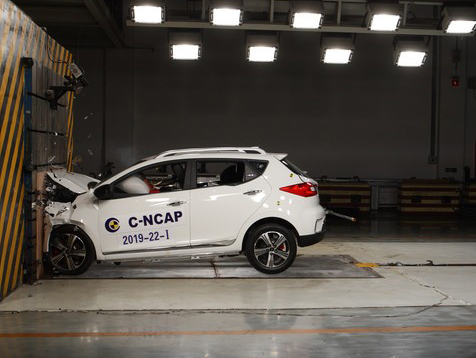 最新C-NCAP安全碰撞成绩