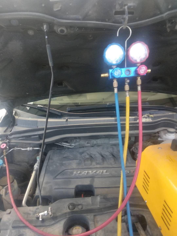 空调漏氟,多次检测及维修无法解决