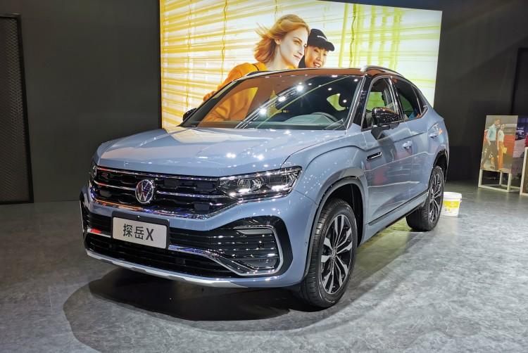 一汽-大众首款轿跑SUV 探岳X 23.58万起售