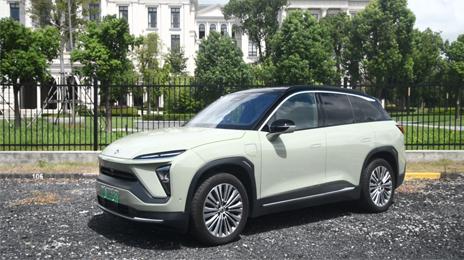 智能电动全能SUV 试驾蔚来ES6