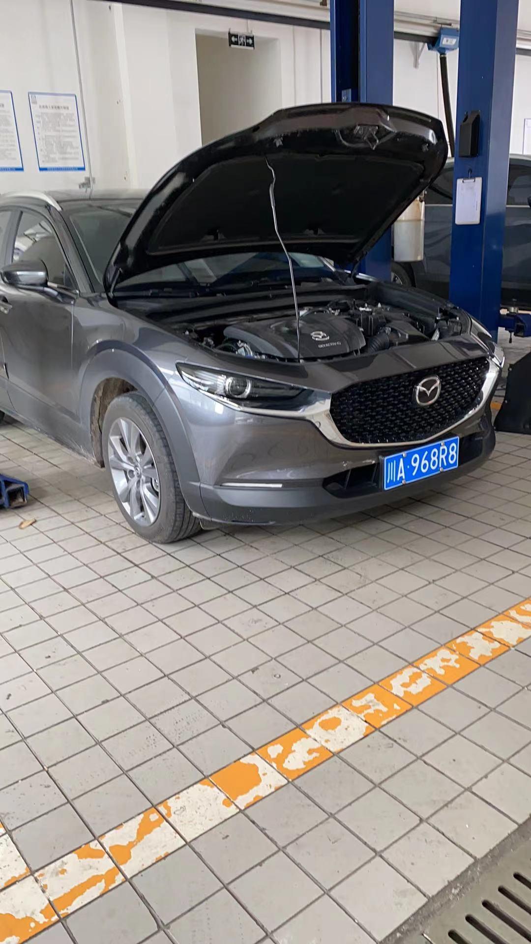 马自达CX30新车买了两周变速箱故障