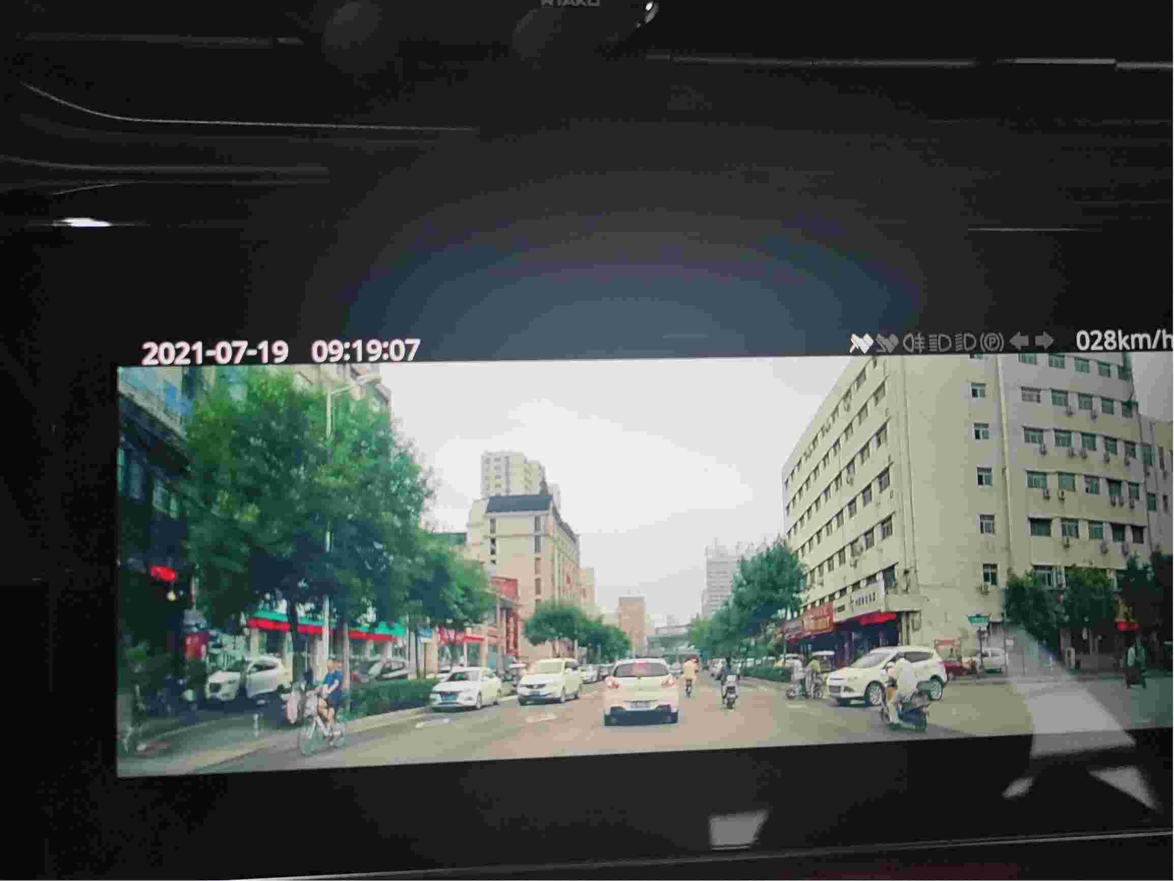 奇瑞艾瑞泽5plus行车记录仪模糊,且不能录音