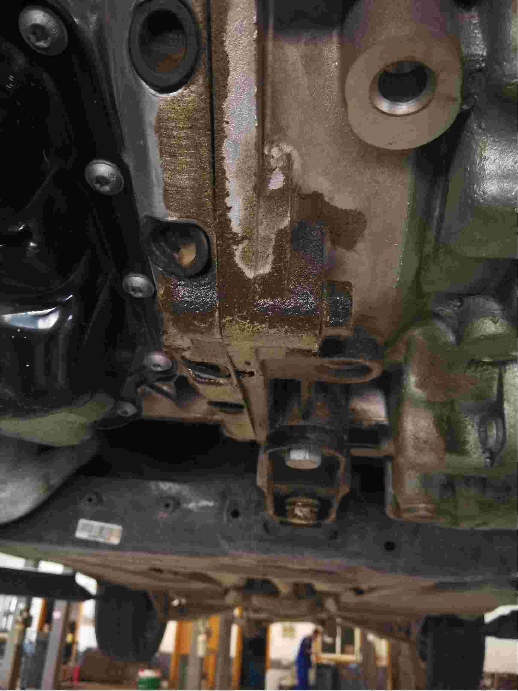丝绸之路途观变速箱漏油